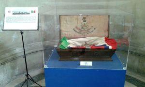Cofano portabandiera della Marina Militare Italiana
