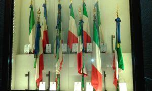 Il Sacrario delle Bandiere delle Forze Armate a Roma
