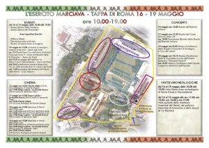 L'Esercito marciava tappa di Roma