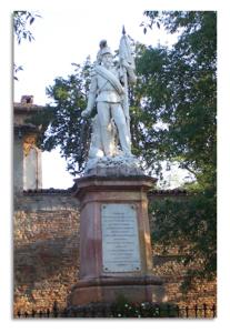 Montebello della Battaglia - Monumento del Cavalleggero