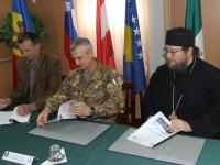 Municipalità di Deçan/Dečani e monastero Visoki Dečani firmano per costruzione ponte Bailey