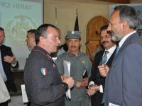 Herat: cerimonia di chiusura dell'EUPOL Field Office