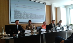 """Un momento del convegno storico """"La Legione ceco-slovacca in Italia e la Grande Guerra"""""""