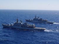 Oceano Indiano: nave Libeccio dà il cambio a nave Grecale nell'Operazione Atalanta