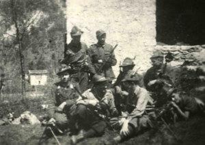 Alcuni componenti della Brigata Osoppo