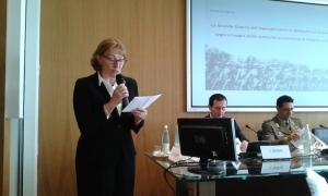 """Il saluto dell'Ambasciatrice slovacca Mária Krasnohorská al convegno storico """"La Legione ceco-slovacca in Italia e la Grande Guerra"""""""