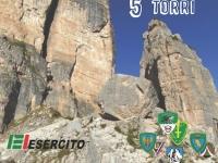 "Sulle Dolomiti l'esercitazione alpinistica ""5 Torri 2015"""