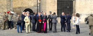 Anagni- il cardinale Lorenzo Baldisseri e monsignor Gerardo Antonazzo