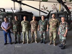 Il comandante della MIBIL in visita ai principali Istituti di formazione delle forze armate libanesi