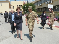 Il Presidente della Repubblica del Kosovo Atifete Jahjaga ha incontrato il Comandante di KFOR