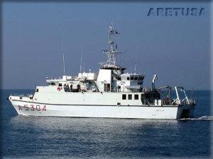 Nave Aretusa della Marina Militare