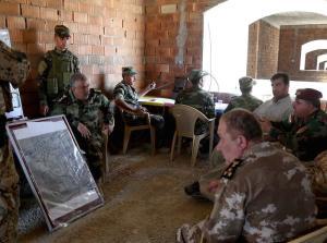 """Attività addestrativa degli istruttori militari italiani della Task Force """"Erbil"""""""