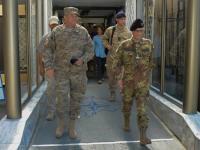 KFOR importante nel contesto balcanico: il generale Breedlove incontra i militari della Kosovo Force
