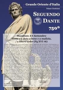 Roma: celebrazioni del Grande Oriente d'Italia per l'Equinozio di Autunno e il XX Settembre