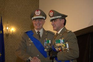 Avvicendamento tra il generale di brigata Michele Cittadella e il generale di brigata Antonio Pennino