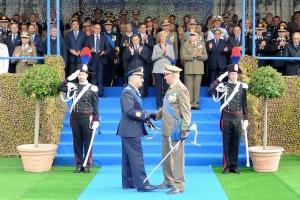 Da sin. il generale Magrassi e il generale Stefanini