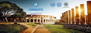 Roma- al Ministero degli Affari Esteri la cerimonia di chiusura di ROMUN2015