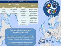 Trident Juncture 2015: A Trapani la cerimonia di apertura dell'esercitazione NATO