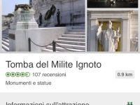 Alla Tomba del Milite Ignoto il Certificato di Eccellenza di TripAdvisor