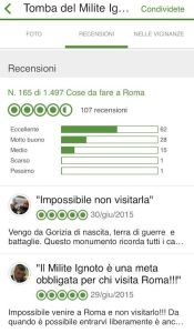 I commenti dei visitatori