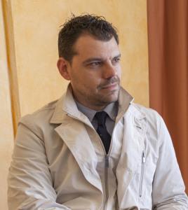L'editore Giuseppe Giudice, fondatore di Edizioni Epsil
