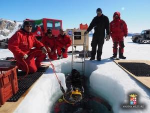 I palombari di Comsubin in Antartide