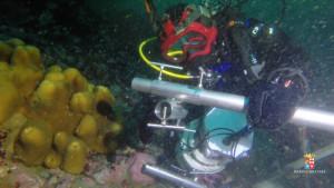 I palombari di Comsubin in immersione in Antartide