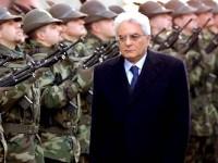 Il presidente Mattarella convoca il Consiglio Supremo di Difesa