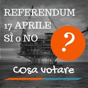17 aprile 2016- referendum sulle trivellazioni in Adriatico