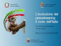 L'evoluzione del peacekeeping. Il ruolo dell'Italia: workshop al CASD a Roma