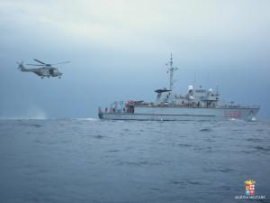 Avviate operazioni per il recupero del peschereccio inabissato nello Stretto di Sicilia il 18 aprile 2015
