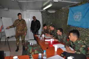 Libano- esercitazione congiunta tra caschi blu italiani e forze armate libanesi