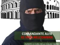 Comandante Alfa. Io vivo nell'ombra: a Roma due presentazioni sabato 24 giugno