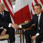 Trump, Macron ed il clima