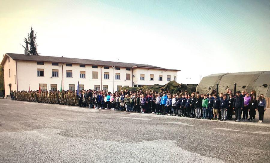 <em>Caserme aperte</em> a Remanzacco in occasione della Festa delle Forze Armate del 4 novembre