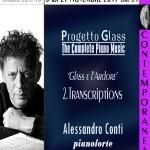 Roma: concerto del pianista Alessandro Conti dedicato a Philip Glass il 25 novembre