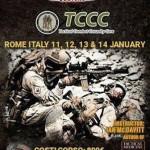 Tactical Combat Casualty Care: corso a Roma 11 - 12 - 13 - 14 gennaio