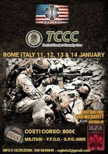 corso Tactical combat casualty care