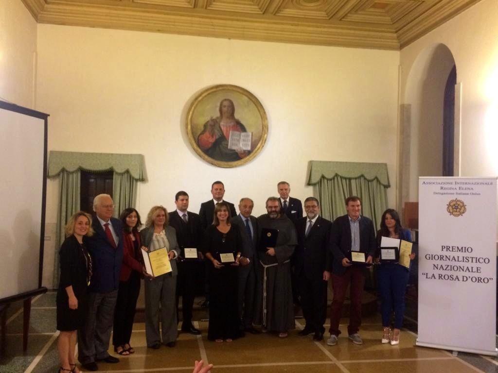 Flavia Filippi vincitrice del Premio Giornalistico Nazionale La Rosa d'Oro