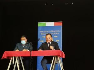 Il presidente Ilario Bortolan e il delegato ai rapporti istituzionali e alla comunicazione Biagio Liotti